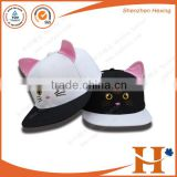 Funny Animal Unisex Children Cap / Cute Shape Of Cat Children Snapback Cap & Hat With Ears