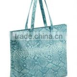 Best-selling elegant Snake print leather handbag / fashion handbag for woman