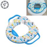 Soft kids baby toilet trainer