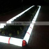 Outdoor lighting New design LED curbstone,Plastic curbstone China factory