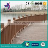 Long lasting cheap WPC wood plastic fence designs panels