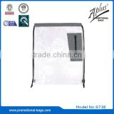 Drawstring Clear Plastic Backpack Bag