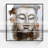 Handmade Wall art decor acrylic buddha painting of buddha lord