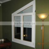 Italian Style Aluminum-Wood Composite Tilt and Turn Window Double Glazed,Louvered window, Special shape