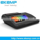 Android POS Terminal with FIngerprint Scanner, NFC Reader for Biometric Sim Card Vending