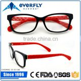 2015 newest fashion eyewear eyeglasses red pattern temple optical frames eye glass                                                                         Quality Choice