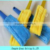 Microfiber fabric lens cleaning twisting fabric,ultra absorbent fabric for mop pad cleaning products