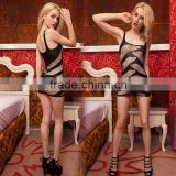 880-53 2016 Sexy Lace Neck Fishnet Body Stocking Sexy Lingerie