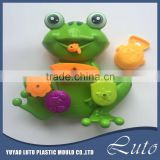animal bath toy for baby cartoon plastic frog toy