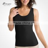 S-SHAPER OEM Seamless Tank Top Shapewear Slimming T-Shirt Belly Control Corset Underwear Lightweight Bodysuit