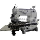 12 Needle Double Chainstitch Pintuck Sewing Machine