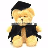 2015 factory the graduation teddy bear,custom plush toys
