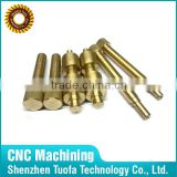 Custom Precision CNC turned machining knurled rod in China
