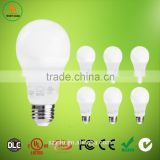 Alibaba hot sell 9w e27 plastic led light bulb for home lighting with UL Energy star certificate