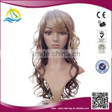 2014 Hot selling New fashion high density wigs synthetic dome