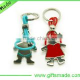 Trade Assurance Supplier 2015 new style keychain metal high quality metal zz top keychain custom metal keychain