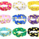 Baby Girls Infant Kids Toddler Wide Dot Cross Hairband Turban Knitted Knot twisted Headband Headwear Hair Bands Accessories