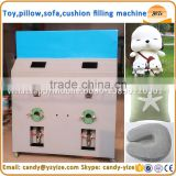 polyester fiber filling machine / Plush toy filling machine for cushion ,pillow , sofa ,soft toy