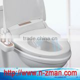Dual Self-cleaning Nozzle Bidet Toilet Seat,Fresh and Warm Water Bidet Toilet Seat,Bidet Toilet Seat Attachment