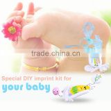 Newborn Baby Gift Set Air Drying Soft Clay Baby Handprint Footprint Kit For Baby Kids Meaningful Keepsake