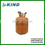 Industrial grade 10.9kg/24lbs disposable DOT cylinder mixed r404a refrigerant gas with good price