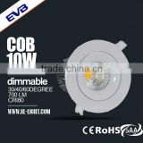 SAA dimmable leading edge and trailing edge 10W COB downlight