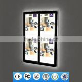 Wall Mounted Real Estate Led Light Sign Acrylic Picture Frames