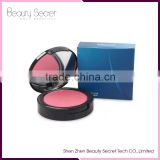 Kiss beauty blusher single color blusher palette make your own brand blusher makeup pan