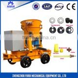 Good quality concrete spraying equipment/dry shotcrete machine for dry and wet building material