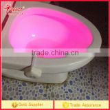 Motion Sensor Toilet LED Nightlight Toilet Seat Light with 8 Changing Colors for Washroom Bathroom