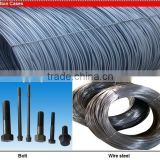 steel wire rod for barbed wire making and wire nail making