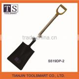 types of best digging steel spade shovel head with wooden handle