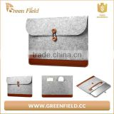 recycle felt clutch bag, wool felt fabric clutch bags