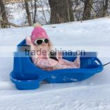 snow BOB with secure ceinture kids snow sled CFO LUGE for under 3 years old