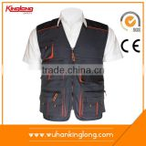 New Models Men's Sleeveless Canvas Working Vests any color is available
