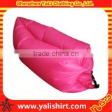 OEM custom cheap batch fast blank inflatable air sleeping bags Outdoor air lazy sofa bed wholesale