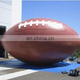 Inflatable giant American football ballon ,inflatable Rugby for outdoor advertising