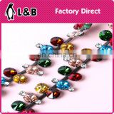 Blingbling Crystal acrylic stone Decorative rhinestone Chain Trimming for Garment Dress shoes bags