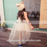 China Supplier Transparent Organza Fabric For Baby Girls Dress designs
