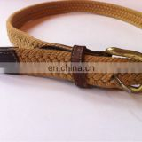Braided rope belt fashion rope belts