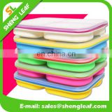 -collapsible lunch bowl 3-compartment silicone lunch bowl
