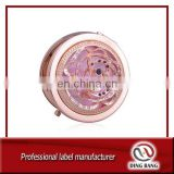 folding make up metal pocket mirror cosmetic pocket mirror