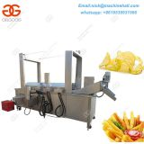 Potato Chips Deep Frying Machine with High Efficiency|Deep Frying Machine for Sale|Automatic French Fries Deep Fryer