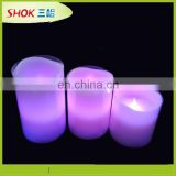 best hot sale led paraffin wax candle with flameless from factory wholesale