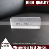 New style custom luxury desktop acrylic name tag holder for office