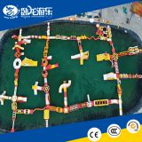 amazing water park for sea adult obstalce course huge floating inflatable water park price