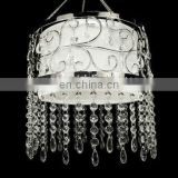 Acrylic drops beaded Chandelier