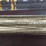 China factory high quality best price hydraulic rubber flexible 304 stainless steel hose pipe/hydraulic steel wire hose