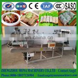 Chinese snack steamed cold rice noodles making machine/Rice vermicelli noodles making machine manufacturer