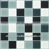 Crystal Glass Chessboard mosaic
